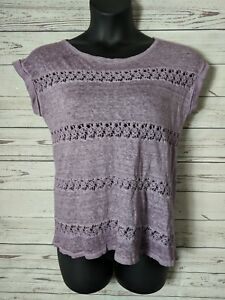 Anthropologie-Akemi-Kin-S-Small-Lattice-Stripe-Linen-Tee-Purple