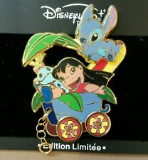 DISNEY PIN LE DLRP LILO AND STITCH SCRUMP TRAIN SERIES DISNEYLAND PARIS