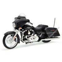 MAISTO Harley Davidson 2015 Street Glide Special 1:12 Black Motorcycles