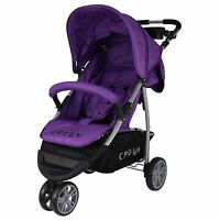 St712 Crown Child Stroller Buggy Sport Jogger High Quality Purple 2016