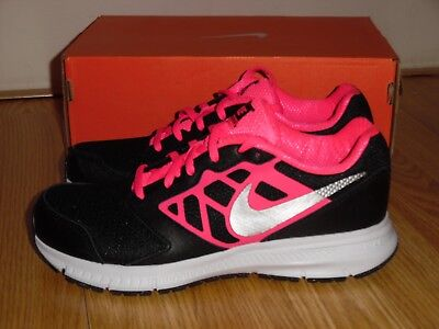 hot sale online 852a9 64d53 NEW Nike Downshifter 6 GS PS girl s youth size 4Y 5Y shoes sneakers Black  Pink