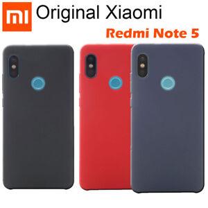 half off d75a2 748e2 Details about 100% Original Xiaomi Redmi Note 5 Pro A2 Silione Soft fiber  Skin Back Case Cover