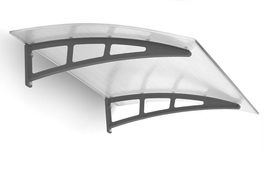 SCHULTE Pultbogenvordach TWINLINE Haustürvordach Vordach Regenschutz