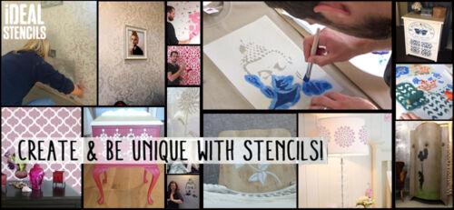 Flying Geese Stencil Reusable Home DÃ cor Wall Art Craft Paint Ideal Stencils