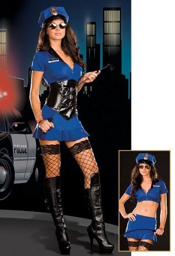 Officer Anita Friskya Dreamgirl Costume 6513