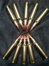 5- 7.62x54r Russian rimmed snap caps for training drills black gun 3 gun 7.62 54