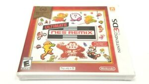 ULTIMATE NES REMIX (Nintendo Selects) for Nintendo 3DS & 2DS *NEW & SEALED*