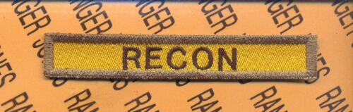 """7th Armored Division /""""RECON/"""" TAB"""