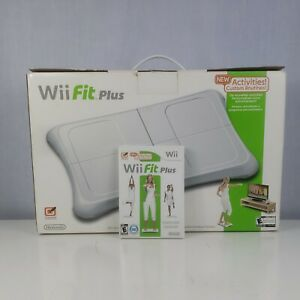 Nintendo Wii Fit Plus Balance Board Workout Fitness. Ples wii fit game