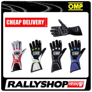 Updated Model For Karting! OMP KS-4 KS4 Kart Gloves KK02744E in 6 Colours