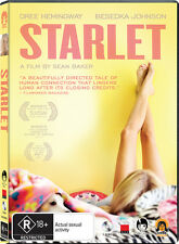 Starlet - Rated R R4 DVD Dree Hemingway *Brand New* MIFF 2012