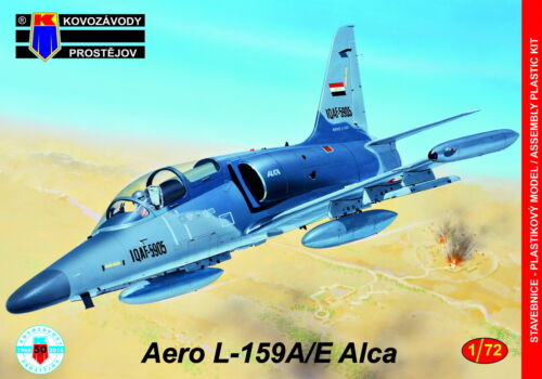 Kovozavody Prostejov 1//72 Aero L-159A//E Alca # 72119