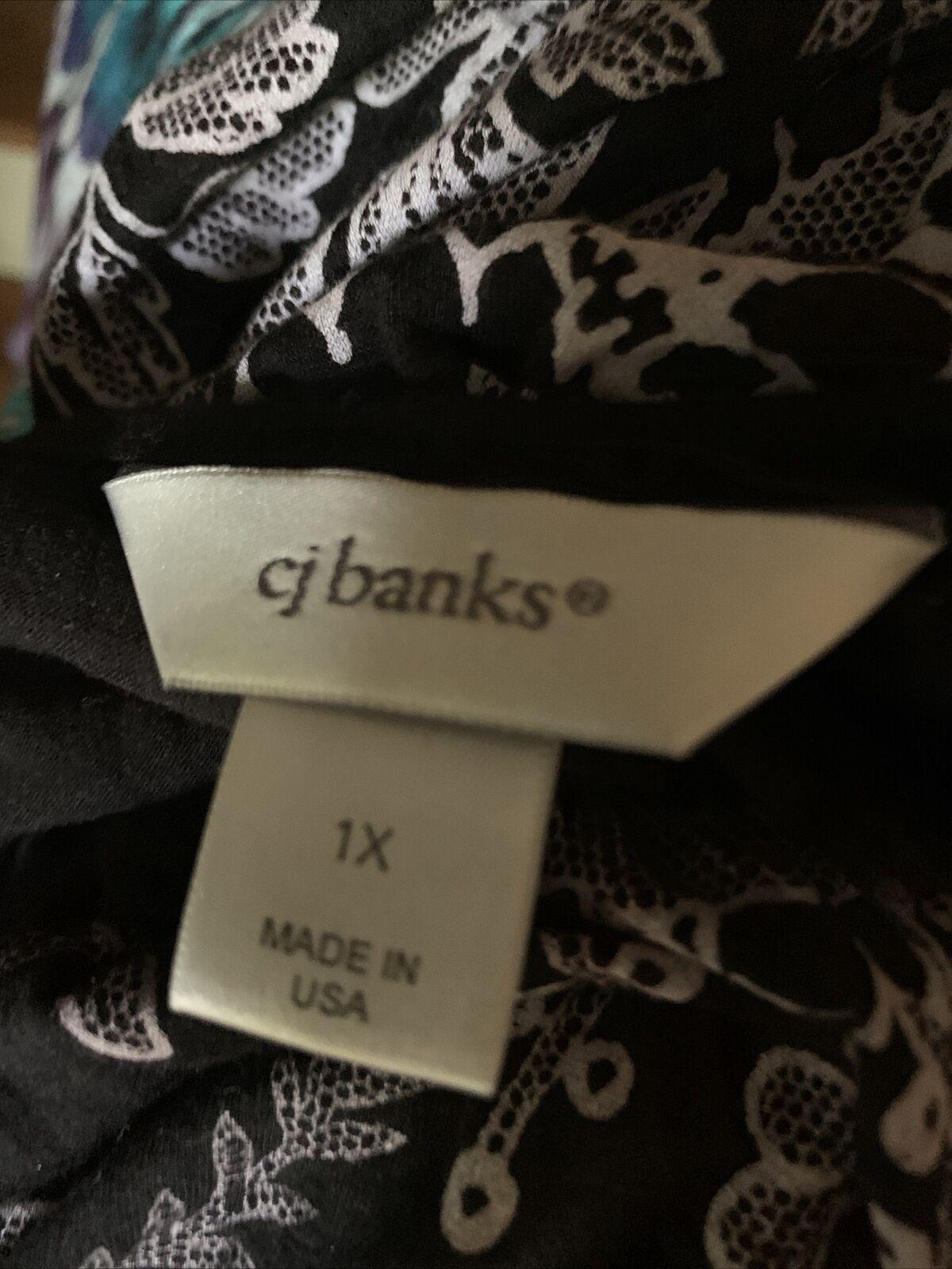 CJ BANKS Christopher & Banks Paisley French Flowe… - image 5