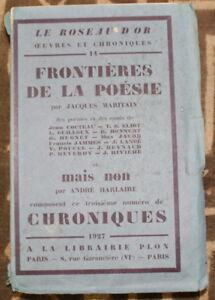 1927-Le-Roseau-d-039-Or-Chroniques-N-3-beau-Grand-Papier-Numerote-sur-Pur-Fil