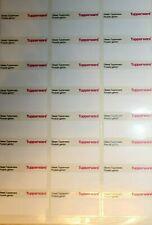 Tupperware Etiketten Freundschafts Etiketten NEU OVP Top Qualität Aufkleber