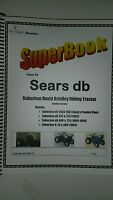 Sears Db David Bradley Riding Garden Tractor Mower Service Owners Parts Manual