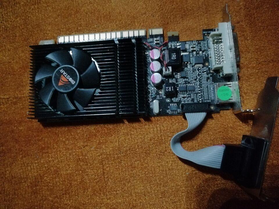 G210 64bit DDR3 BIOSTAR, 1GB GB RAM, Rimelig