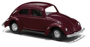Busch-60201-VW-Beetle-Red-Kit-H0