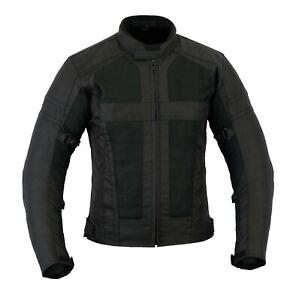 CompéTent Veste Textile Moto Veste Ete Cordura Poliester Veste Homme Noir Taille S A 5xl