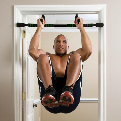 Pull Up Door Frame Steel Exercise Bars Chin Ups Fitness Push Doorway Training
