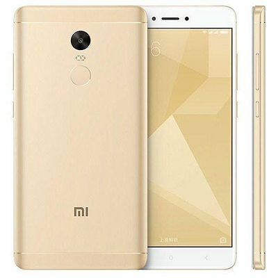 Xiaomi Redmi Note 4x Dual SIM 4GB RAM 64GB ROM Gold Ship from EU