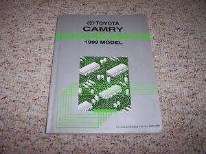 1999 Toyota Camry Original Electrical Wiring Diagram ...
