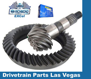 "Power Torque Ford 8.8/"" 10 Bolt 3.55 Ring and Pinion Gear Set Pinion Install Pkg"