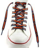 Chicago Bears Team Logo Colors 54 Shoe Laces One Pair Lace Ups Nfl