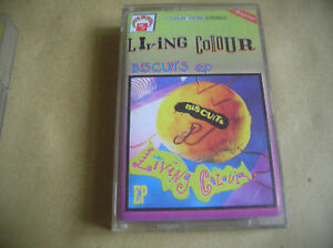 LIVING COLOUR Biscuits ep CASSETTE POLAND - Bielsko-Biala, Polska - LIVING COLOUR Biscuits ep CASSETTE POLAND - Bielsko-Biala, Polska