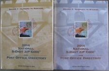 2014 National 5-Digit Zip Code and Post Office Directory, Volume 1 & 2