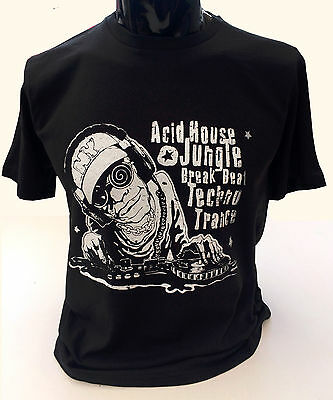 Men/'s Caution Tripping On Acid Funny T-Shirt
