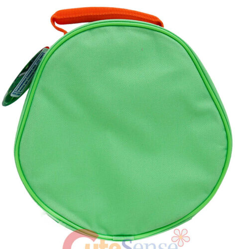 TMNT Michelangelo School Lunch Box Mike Face Die Cut Insulated Snack Bag