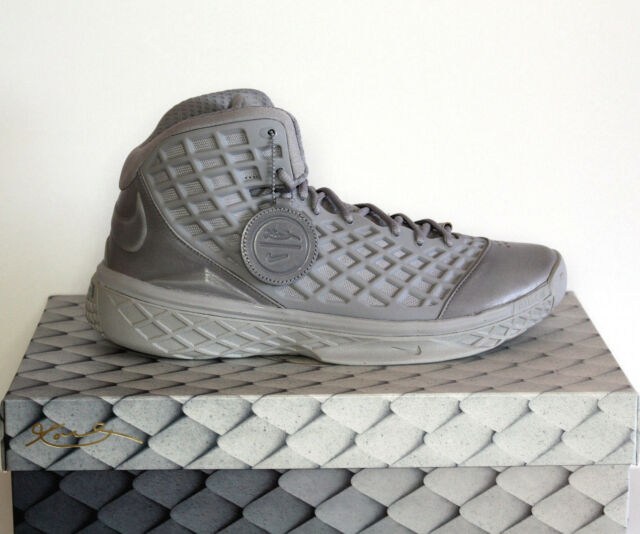 finest selection 2c0ba 4df61 Nike Zoom Kobe 3 III FTB Fade to Black Mamba Size 11 Matte Silver 869453-