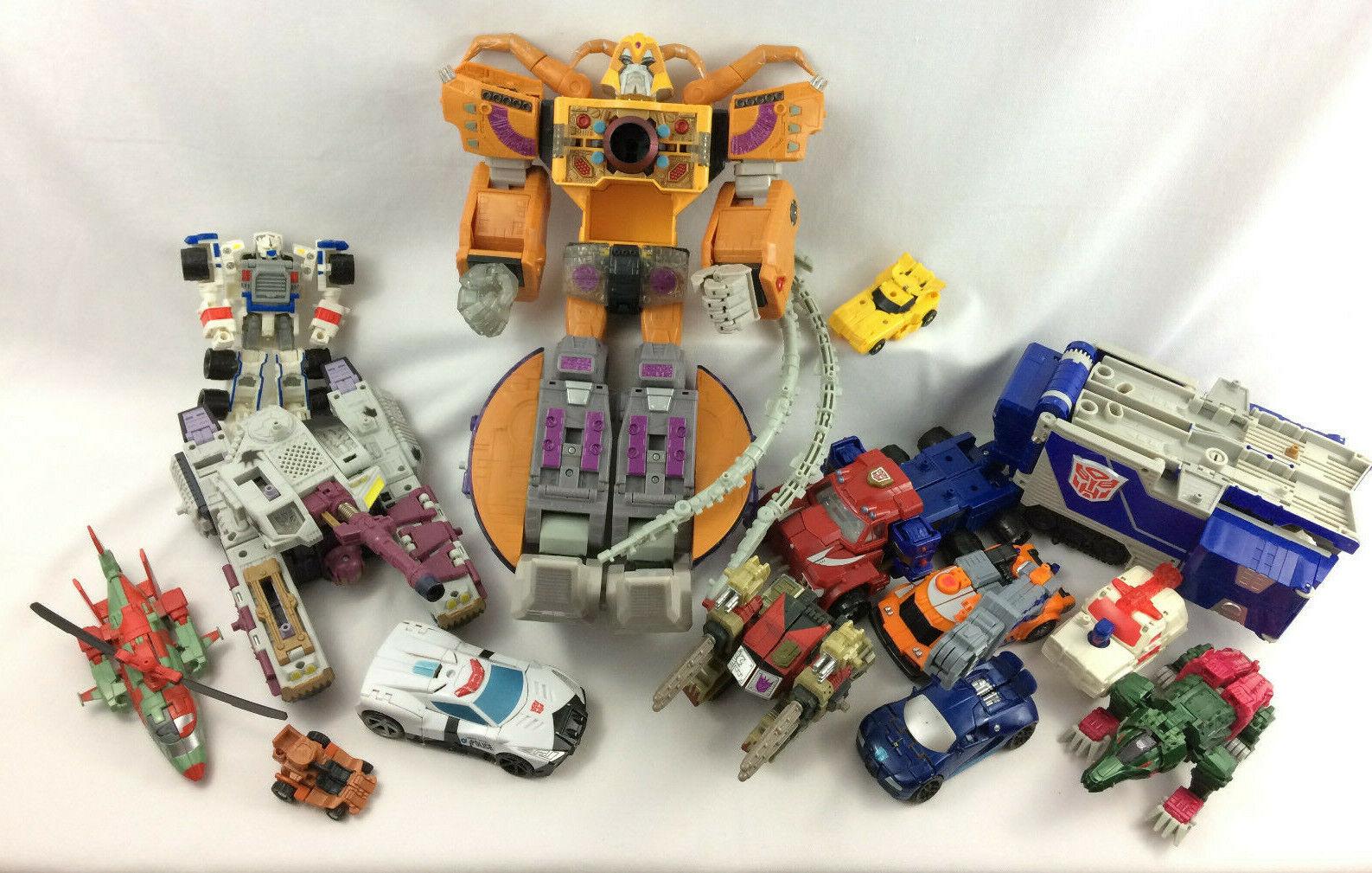 13 unidad Transformers Lote de juguetes, muchos de Armada, Unicron, Optimus, Galvatron más