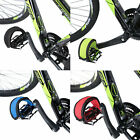 Fixie BMX Fixed Gear Bike Bicycle Adhesive Straps Pedal Toe Clip Strap Belt New