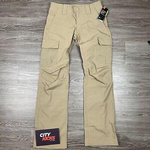 Nueva Camiseta Para Mujer Under Armour Ua Tormenta Tactico Patrulla Pantalones Caqui Talla 6 1254097 251 Ebay