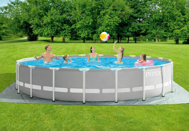 Intex 26755eh 20ft X 52inch Above Ground Swimming Pool Set With Filter Pump For Sale Online Ebay