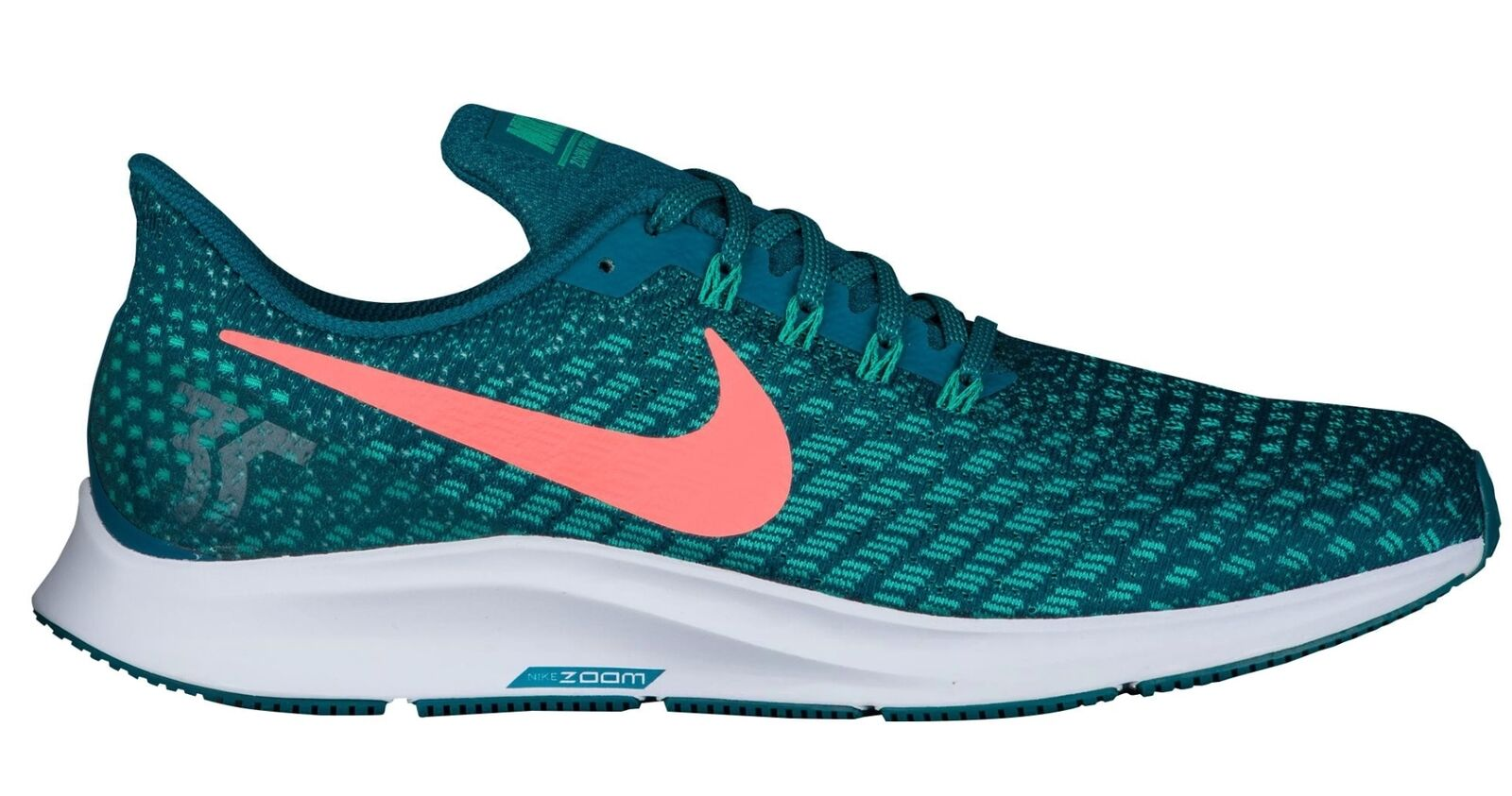 Nike Air Zoom Pegasus 35 Mens 942851-300 Geode Teal Mesh Running shoes Size 14
