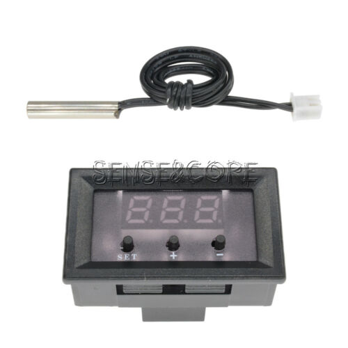 W1209 12V Digital Thermostat 50-110°C Temperature Controller Switch Sensor+Case