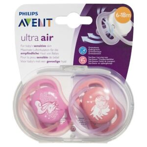 Avent Air Mix Deco Soothers 6-18 Months 2 pack