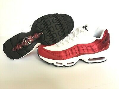 Nike Air Max 95 LX NSW Running Shoes Women's Sz 7.5 Red Crush White AA1103 601 | eBay