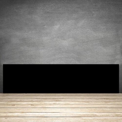 SONDERANFERTIGUNG Küchenrückwand aus Glas 90x21 Schwarz