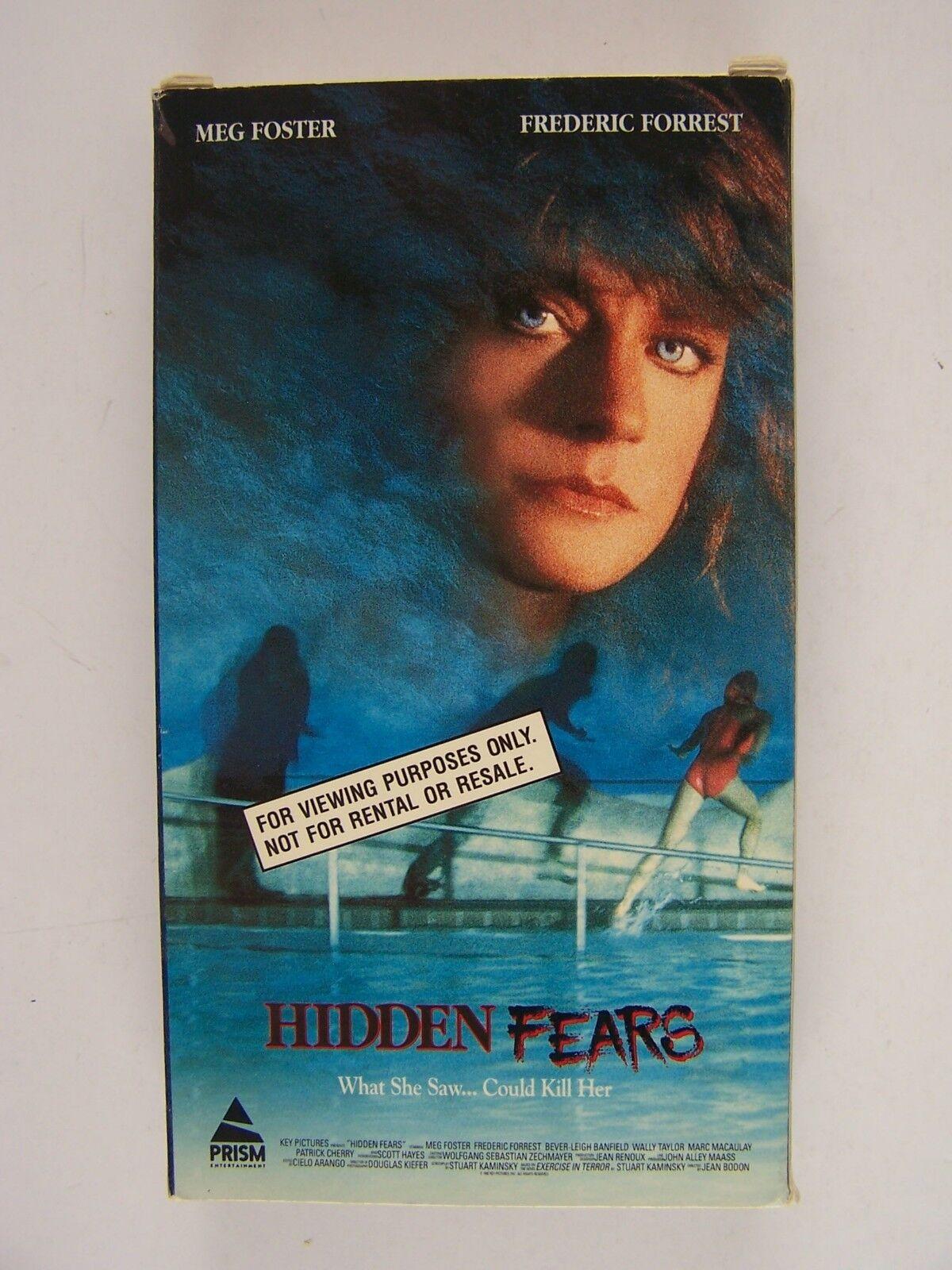 Hidden Fears / Forever VHS PROMO Screening Video Tape