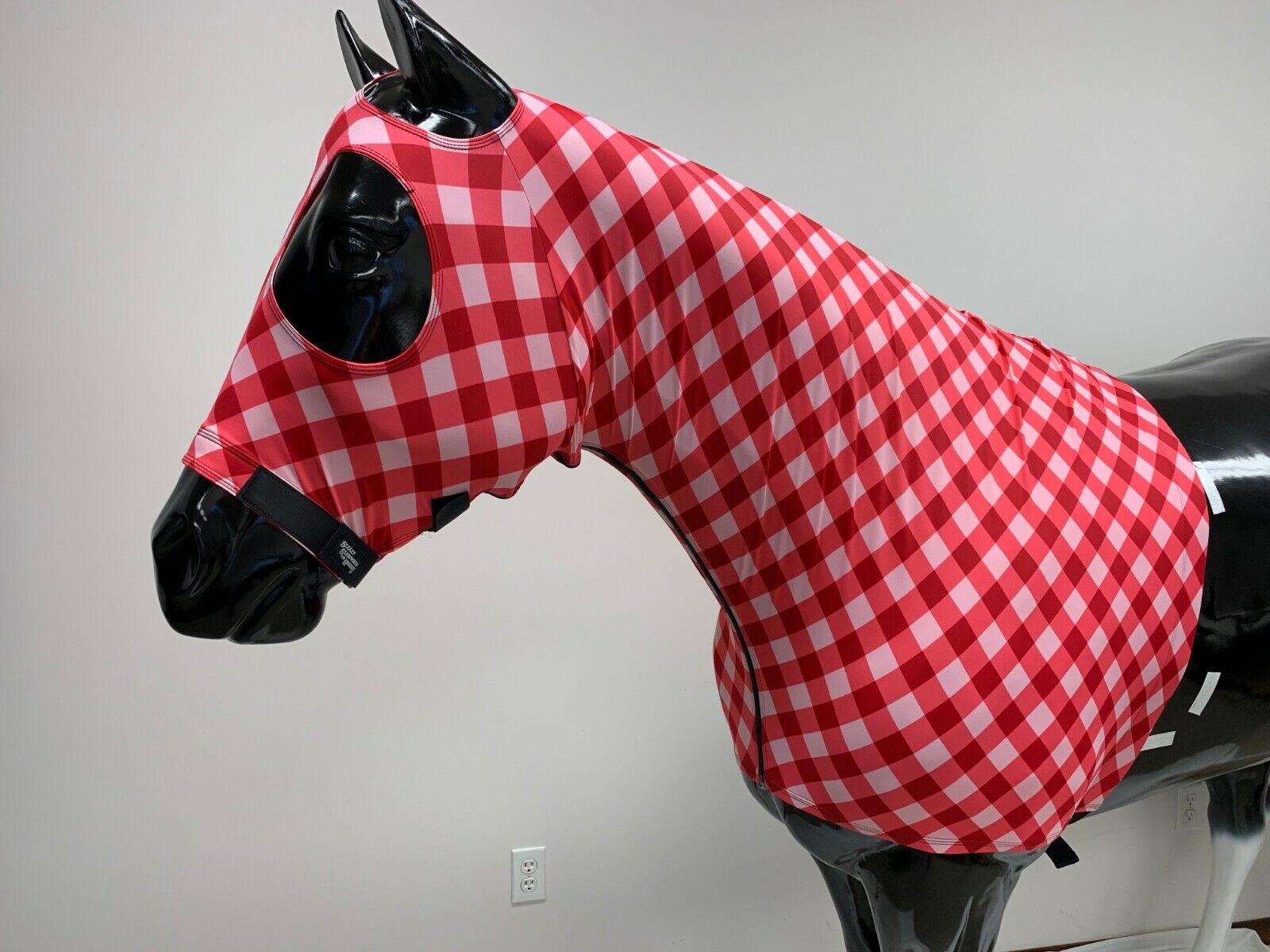 Sleazy Sleepwear  Horse Hood Print Size Large with ZIPPER & Mat ng Tail Bag  professional integrated online shopping mall