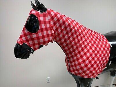 Sleazy Sleepwear Horse Hood Print Size Medium with ZIPPER /& Matching Tail Bag