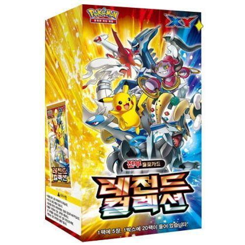Coréen 1 Booster Pokémon XY Legend collection