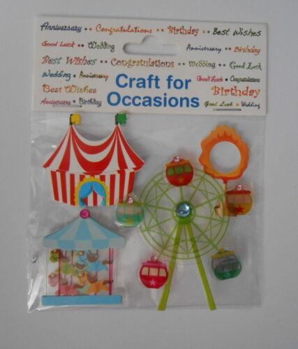 """Craft for occasions /""""pretty fete foraine/"""" pour cartes et artisanat"""