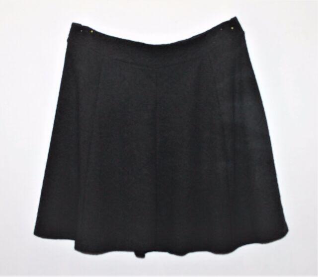 CROSSROADS Brand Black Mid Fit Flare Workwear Skirt Size XXL BNWT #SW13