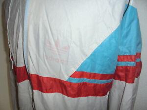 vintage-Adidas-Nylon-Regenjacke-glanz-80s-shiny-oldschool-Jacke-80er-Jahre-L