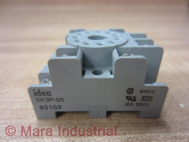 300V Idec SR3P-05//SR3P05 Relay Socket//Base 10A